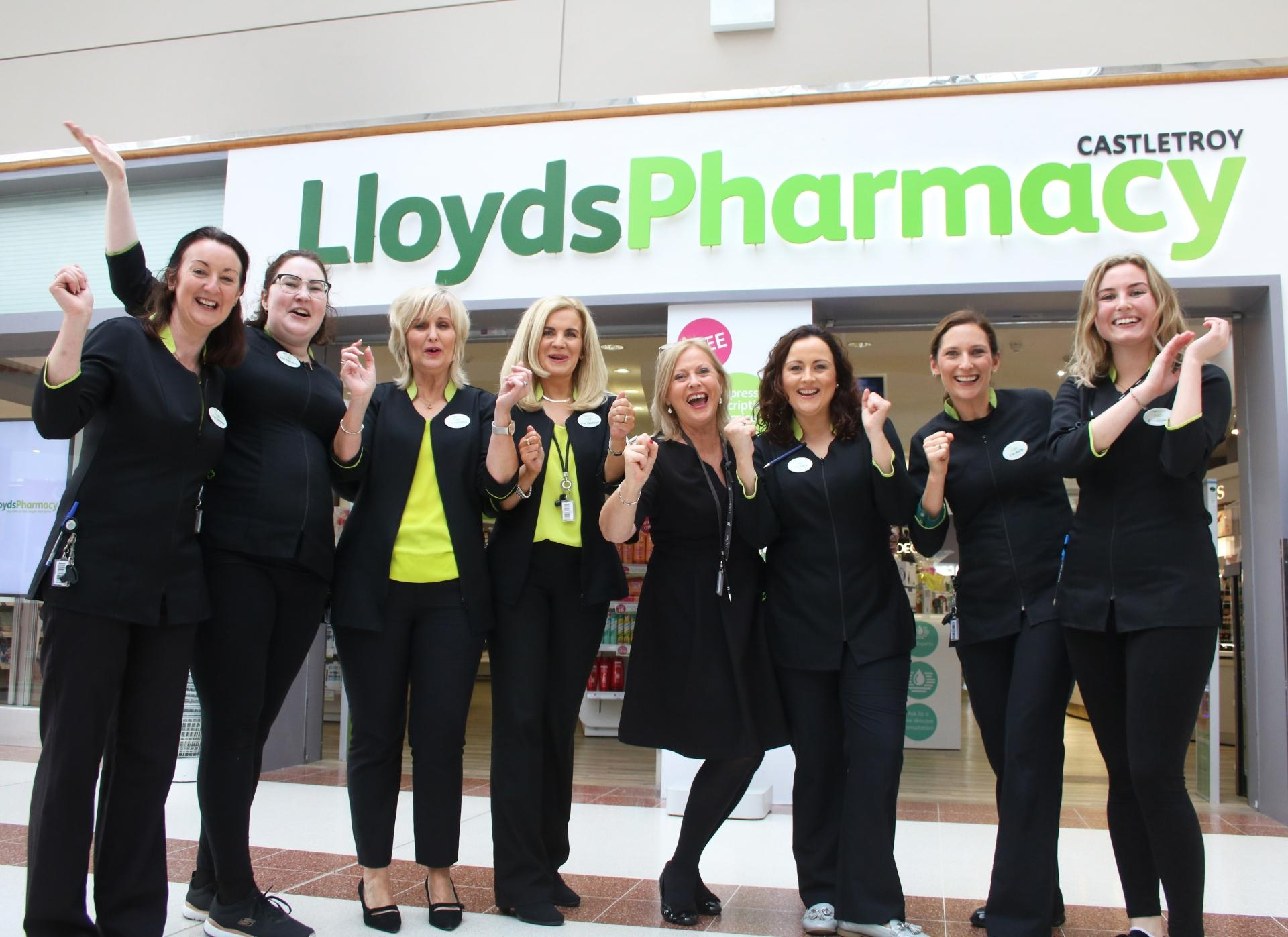 WATCH: Celebrations at Limerick pharmacy as staff win €65k