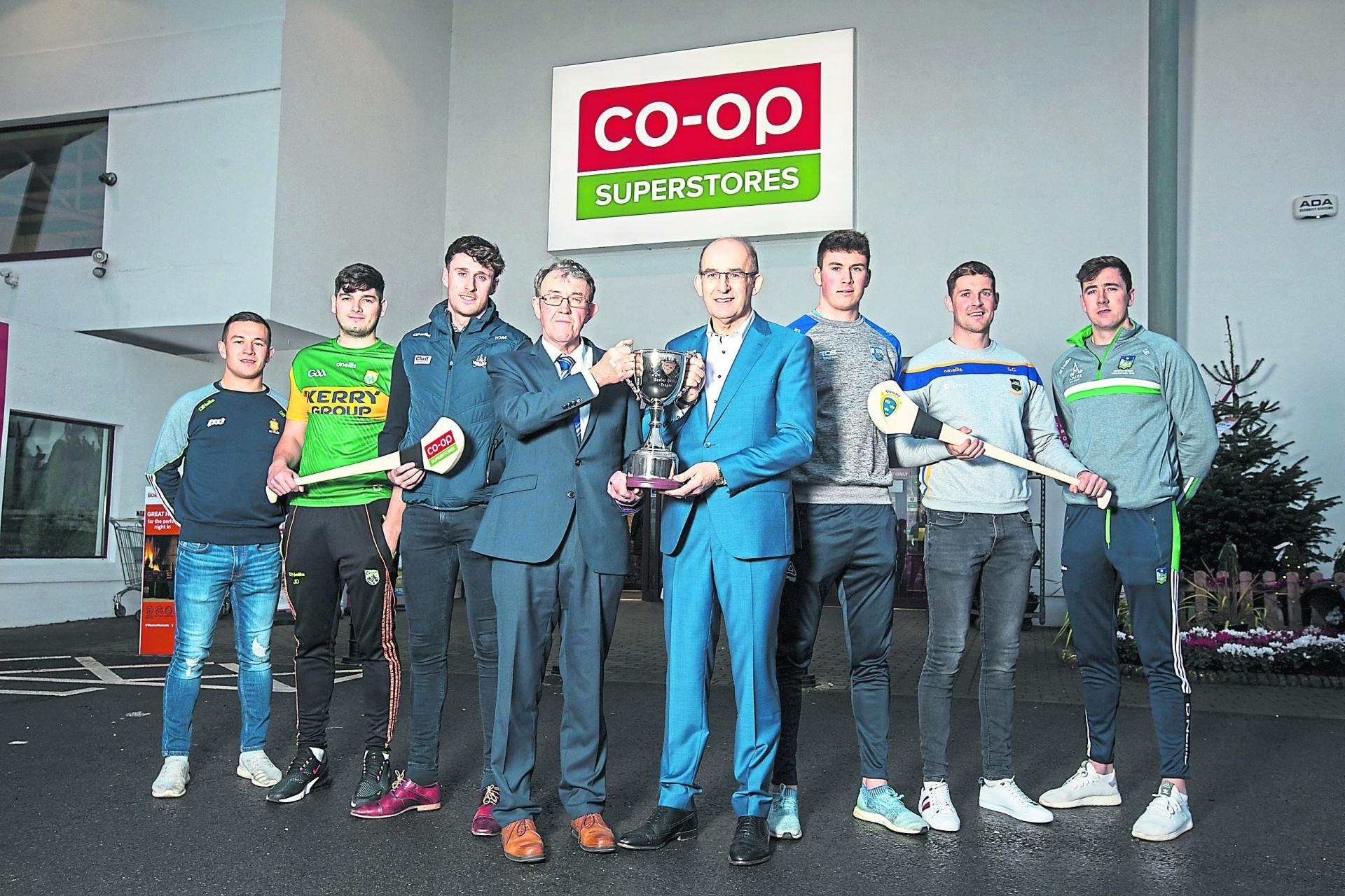 Munster Hurling League launched at Co-Op Superstores in Raheen