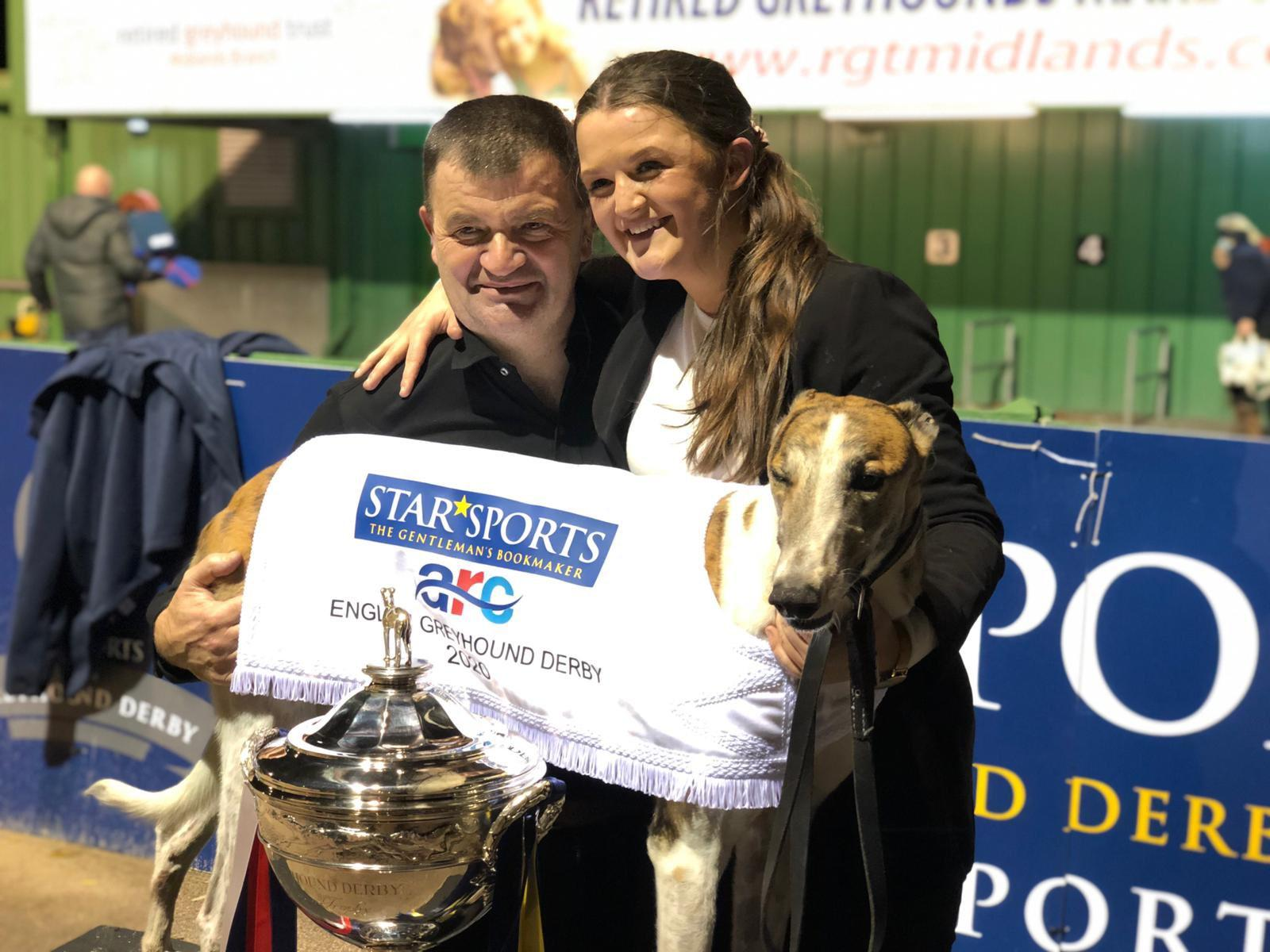 Historic English Derby Greyhound title victory for Limerick ...