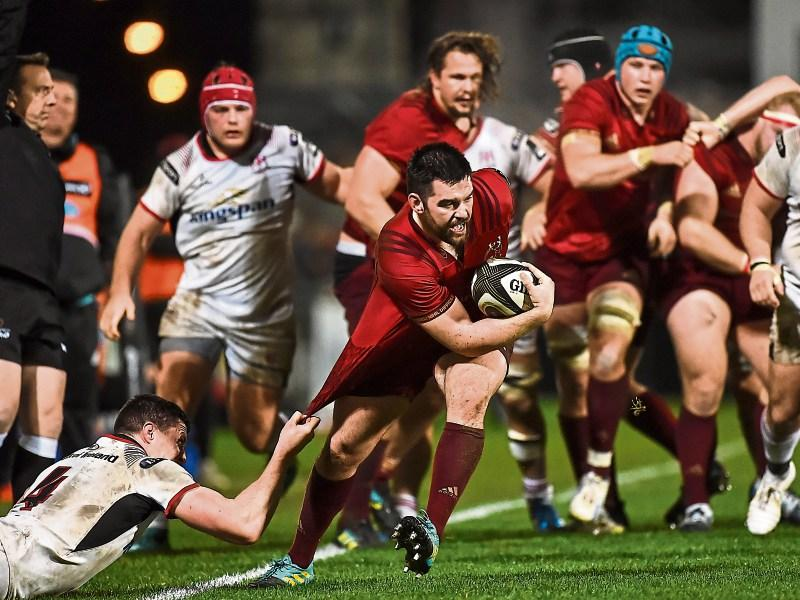 5f5e9eeb7db WATCH: Munster rue referee's controversial call as Ulster prevail in PRO14.  Colm Kinsella, Rugby Correspondent
