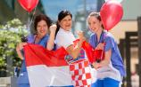Croat expats in Limerick look to give French a good Balkan in World Cup final