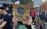 WATCH: Climate change protestors take to streets of Limerick in their masses