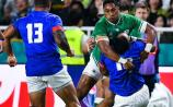 Ireland reach World Cup quarter finals with win over Samoa