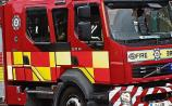 BREAKING: Firefighters tackle blaze at thatched house in Limerick