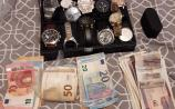 BREAKING: Cash and luxury watches seized during CAB searches in Limerick