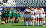 Limerick players on Ireland 7s Womens team in San Francisco