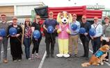 The staff of Parkway Retail Park and the Limerick Autism Group at the launch of the sensory-friendly retail park last month Picture: Dave Gaynor