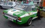 Galbally shows support with decked-out '73 Ford Cortina