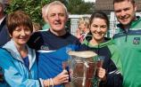 Patricia, Pat and Grainne Boyce with Richie McCarthy
