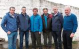 Denis Griffin, Limerick IFA development officer; Joe Healy, president; Shay Galvin, chair; Tom Cooke, dairy chair; John Coughlan, IFA Munster regional chair; Richard Kennedy, deputy president, IFA