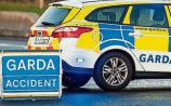 A collision has occurred on the N21