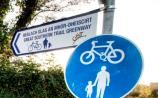 A section of Great Southern Greenway in County Limerick has been closed after a car accident