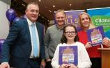 Brendan Ring, Joe Schmidt, Joy Neville, and author Keeva Delaney at the book signing of The Dolls' Complaints Picture: Michael Cowhey