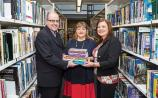 Presenting the books: Sean de Bhuilbh, LIT library, Madeline McAleer, Haven Horizons, and Dr Lisa O'Rourke Scott, LIT Picture: Alan Place