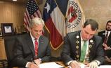 The agreement was signed by the Mayor of the City and County of Limerick Cllr James Collins and Mayor of Austin Steve Adler, at a special ceremony in Austin, Texas