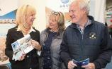 Planning a trip to Lanzarote are Stella and Finbarr Brougham, Ennis Road with Geraldine McFaddan, Aqua Suites