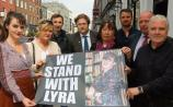 WATCH: Journalists across Limerick stand in solidarity after murder of Lyra McKee