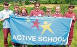 Active instead of written homework proved very popular in County Limerick school!