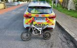 Limerick gardai bringproceedings against youths who were riding scrambleron footpath