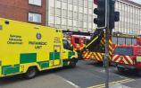 Investigation underway after car crashes into landmark Limerick store
