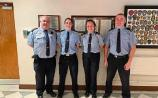 Praise for Limerick gardai who put out chip pan fire after being alerted by crying baby