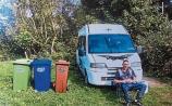 Council begins enforcement proceedings against Limerick man who is living in campervan
