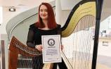 Limerick harpist embodies the spirit of late Eimear Noonan by winning Award of Excellence