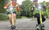 New e-scooters put through their paces at University of Limerick