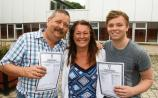 Leaving Cert: Double celebration for Limerick father and son