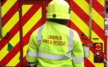Fire service tackle second gorse fire on Limerick mountains in 24 hours