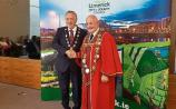 Stephen Keary overwhelmingly elected as new Mayor of Limerick