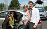 Car seat safety initiative at Brian Geary Car Sales
