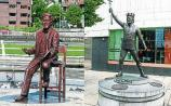 'Melt' €200k Limerick statues of Wogan and Harris and 'start again'