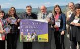 The group launching the Bring Your limericks to Limerick poetry competition