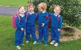 Four times the fun as Limerick quadsstart preschool