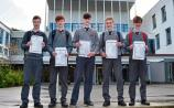 Straight As for five pupils at Limerick school as Junior Cert results are handed out