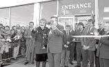 Legendary actress Liz Dawn, who died this week, opens the Co-Op store in Raheen during her visit in 1991 alongside then mayor Jim Kemmy, who passed away 20 years ago this week