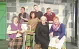 The cast of The Cripple of Inishmaan which opens in Knockaderry on Sunday, November 26