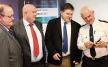 Joseph Nugent, chief administrative officer with An Garda Siochana; Cllr Sean LynchTim Willoughby, head of digital services and innovation with An Garda Siochana and Chief Superintendent David Sheahan