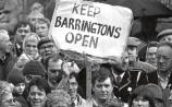 Despite major public protests, Barringtons Hospital closed in 1988 after 160 years