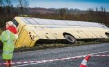 Gardai appeal for witnesses and dash cam footagein Limerick schoolbus crash probe