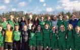 Munster champions: The Scoil Mhuire agus Ide, Newcastle West under-17 girls soccer team