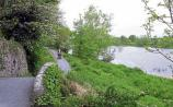 Plassey Bank was a popular spot for anglers. Now Cllr Marian Hurley wants support to encourage them back to the banks of the Shannon