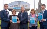 Noel Kelly, Margaret Atalla, Jim Flynn, Eileen Irwin and Niall Sheehan at the launch of Kilmallock/Bruff Enterprise Town Expo