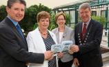 Declan O'Grady, Charleville Park Hotel, Bernie Carroll, Monica Kilmore and Cllr Ian Doyle, attending the Charleville Agricultural Show Society Launch at the Charleville Park Picture Brendan Gleeson