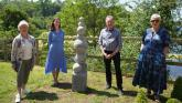 New sundial and playground unveiled at Limerick beauty spot to mark summer solstice