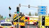 Emergency services attend two car crash in Limerick