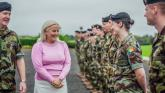 Healthcare staff salute Defence Forces personnel from Limerick as vaccination mission ends