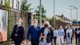 WATCH: 'Joyous day' as Limerick Covid survivor returns to thank hospital staff