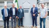 Pride on display for plaque unveiling at Limerick town